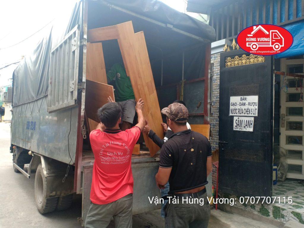 Chuyển dọn nhà trọn gói huyện Hóc Môn