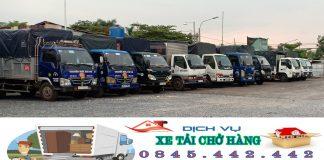 Dịch Vụ Thuê Xe Tải Chở Hàng Giá Rẻ Tại TPHCM