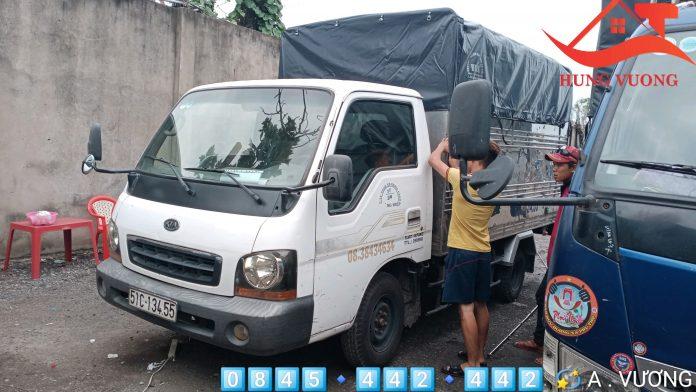 xe tải chở hàng 1 tấn